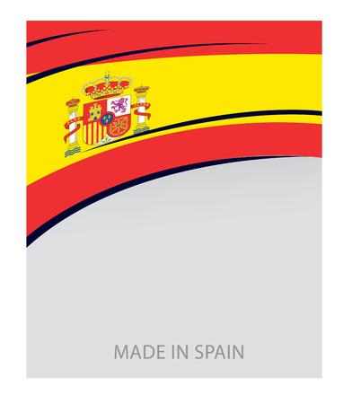 spanish flag: Spain Colors, Spanish Flag (Vector Art)