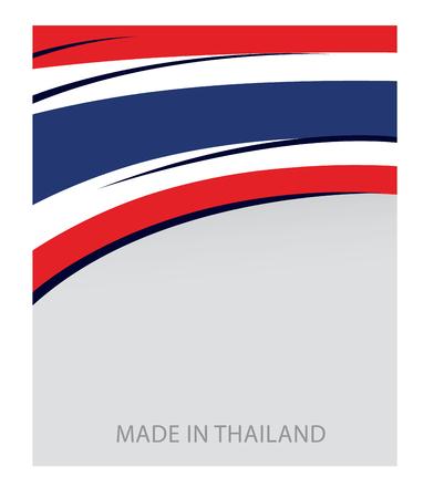 thai flag: Thailand Color, Thai Flag (Vector Art)