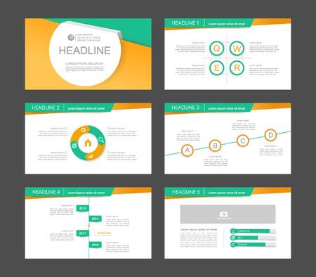 keynote: Infographic elements for presentation templates. Leaflet, Annual report, book cover design. Brochure, layout, template design. Illustration