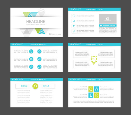 Elements of infographics for presentations templates. Leaflet, Annual report, book cover design. Brochure, layout, layout template design. Illustration.