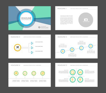 keynote: Set of color infographic elements for presentation templates. Leaflet, Annual report, book cover design. Brochure, layout, layout template design. Illustration