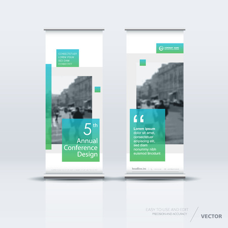 vertical banner template