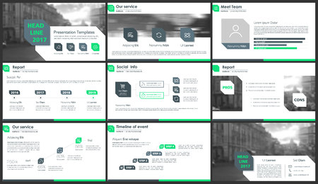 Vector Template for presentation slides