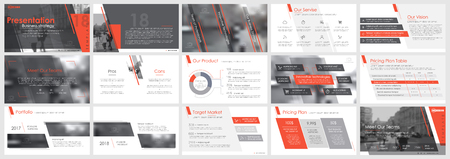 Elements for and presentation templates.