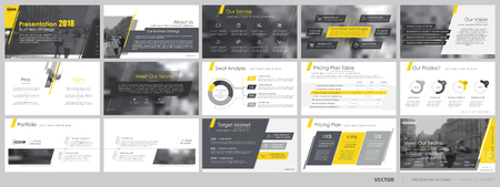 keynote: Elements for and presentation templates.