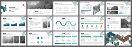 Elements for presentation templates. 일러스트