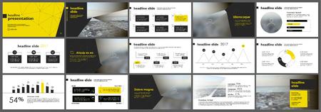 Elementi per i modelli di presentazione. Vettoriali
