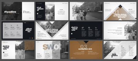 흰색 배경에 프레 젠 테이 션 템플릿 요소입니다. 벡터 infographics. 프레 젠 테이션, 전단지 및 전단지, 기업 보고서, 마케팅, 광고, 연례 보고서, 배너에  일러스트