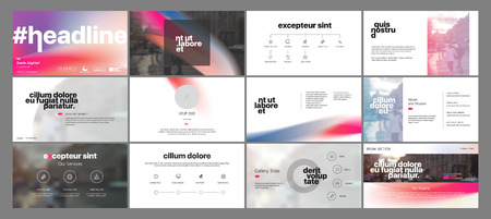 A Minimal Presentation templates element . Vector infographics. Use in Presentation, flyer and leaflet, corporate report, marketing, advertising, annual report, banner.