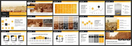 Éléments pour infographie sur fond blanc. Modèles de présentation. À utiliser dans la présentation et la brochure, le rapport de l?entreprise, le marketing, la publicité, le rapport annuel et la bannière.