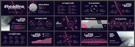Éléments pour infographie sur fond blanc. Modèles de présentation. À utiliser dans les présentations, les circulaires et les dépliants, les rapports d?entreprise, le marketing, la publicité, les rapports annuels et les bannières.