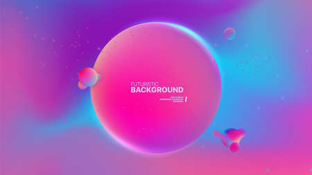 Blurred Abstract Purle and Pink Backgrounds Design. Color gradient pattern. For use in Presentation, Flyer and Leaflet, Cards, Landing, Website Design. Vector illustration.