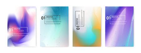Soft Color Background. Modern Screen Vector Design for Mobile App, Presentation, Flyer and Leaflet, Cards, Landing, Website Design. Vector illustration.