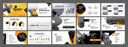 Vector slides for presentation. 向量圖像