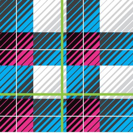 Modern plaid seamless repeat 向量圖像