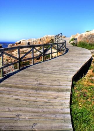 galizia: San Vicente beach en El Grove, Galizia