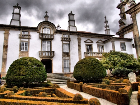 Mateus palace in Vila Real, north of Portugal Stock Photo - 14467428