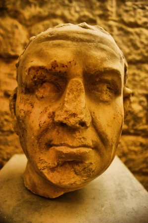 Sculpture in cryptoportico of Aeminium roman city, Coimbra Stock Photo - 14639126