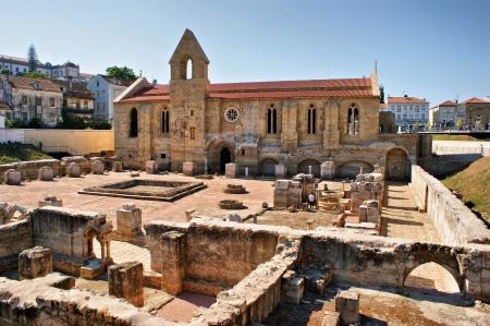 Monastery of Santa Clara Velha in Coimbra, Portugal  Stock Photo - 14740465