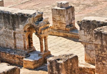 Cloister ruins of Santa Clara Velha in Coimbra, Portugal Stock Photo - 14748951