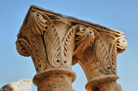 Cloister ruins of Santa Clara Velha in Coimbra Stock Photo - 14874291