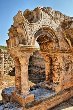 Cloister ruins of Santa Clara Velha in Coimbra Stock Photo - 14874295