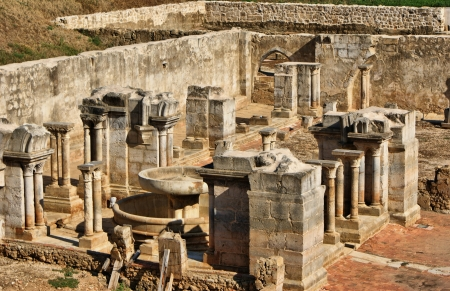 Cloister ruins of Santa Clara Velha in Coimbra Stock Photo - 15213865