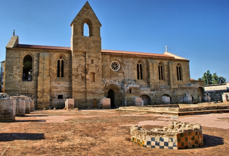 Monastery of Santa Clara Velha in Coimbra, Portugal Stock Photo - 15213873