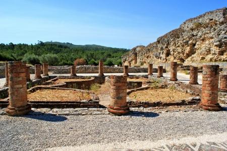 Portuguese Roman ruins in Conimbriga Stock Photo - 15067026