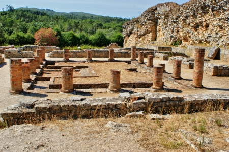 Portuguese Roman ruins in Conimbriga Stock Photo - 15067028
