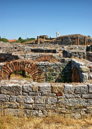 Portuguese Roman ruins in Conimbriga photo