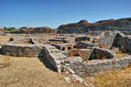 Roman baths ruins of Conimbriga in Portugal Stock Photo - 15305042