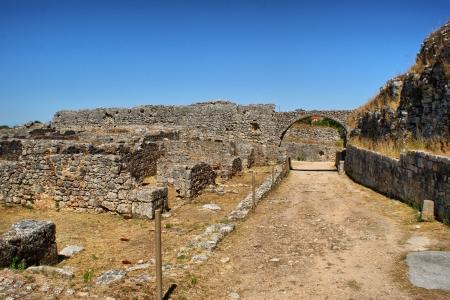 Roman ruins of Conimbriga in Portugal Stock Photo - 15305039