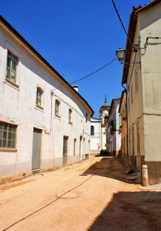 Old street of Espinhal village near Penela, Portugal Stock Photo - 15868218