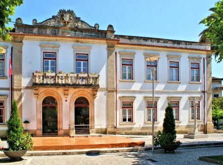 Town-hall of Miranda do Corvo, Portugal Stock Photo - 15868224
