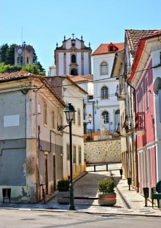 Street of Miranda do Corvo in Portugal Stock Photo - 15868225