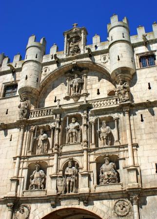 Arch of Santa Maria, Burgos, Castilla y Leon, Spain Stock Photo - 16171499