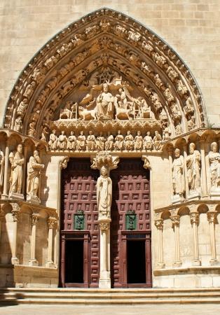 The Sarmental Door of Burgos Cathedral, Spain Stock Photo - 16171495