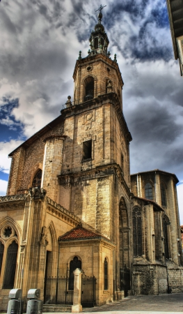San Pedro church in Vitoria-Gasteiz, Spain Stock Photo - 16429209