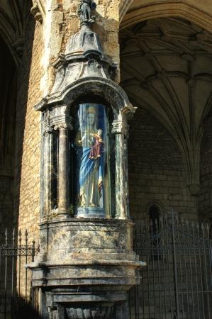 Virgen blanca sculpture in Vitoria-Gasteiz, Spain Stock Photo - 16429282