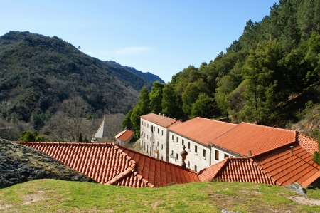 Nossa Senhora da Peneda sanctuary in Portugal Stock Photo - 16429430