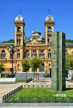 City Hall in San Sebastian  Donostia , Spain Stock Photo - 16961283