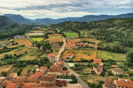 Countryside of Burgos, Castilla y Leon, Spain Stock Photo - 17050812
