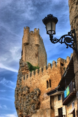 Castle of the city of Frias in Spain Stock Photo - 17298559