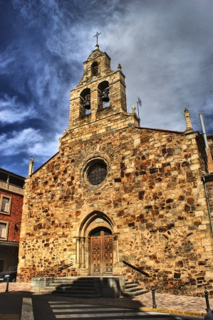 Our Lady of Fatima church in Astorga, Spain Stock Photo - 17470616