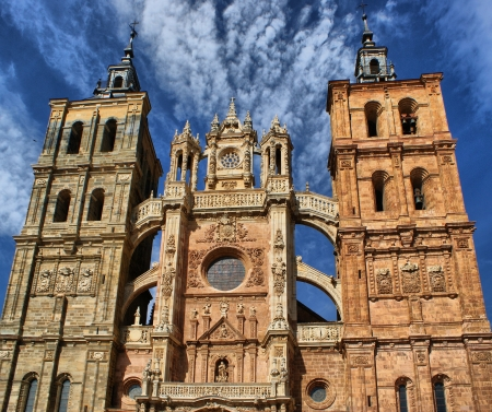 Saint Mary Cathedal of Astorga, Spain photo