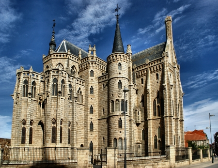 Episcopal Palace in Astorga, Spain