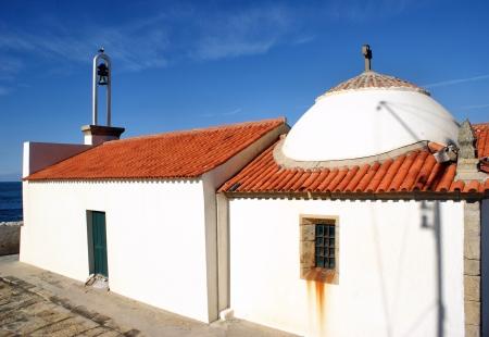 senhora: Nossa Senhora da Guia Chapel in Vila do Conde, Portugal Stock Photo