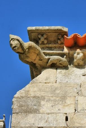 Gothic gargoyle in Matriz church, Vila do Conde Stock Photo - 17858555