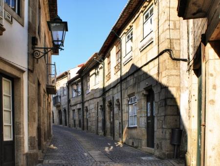 Old street in Vila do conde, Portugal Stock Photo - 17858557